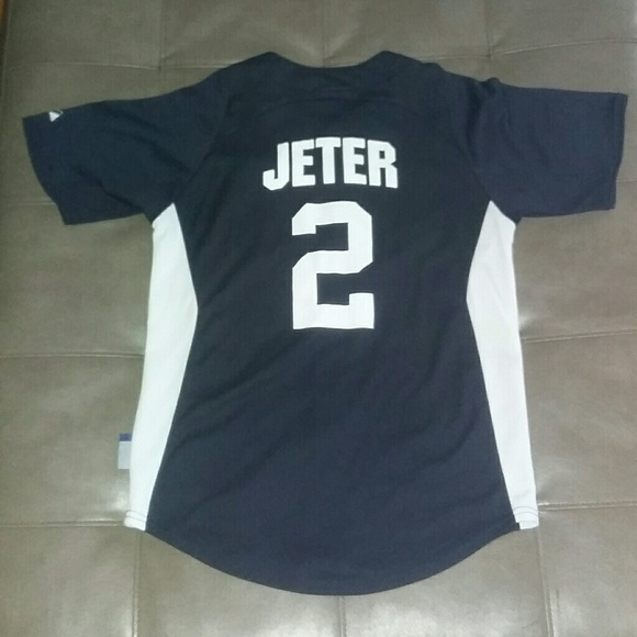 f3c811f3a Majestic Shirts & Tops | Derek Jeter Vintage New York Yankees Jersey ...